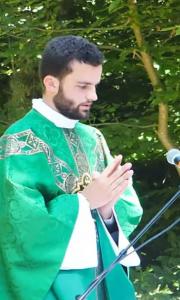 Première messe du Père Aymar sur notre paroisse