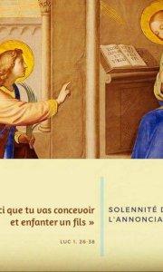 Messe de l'Annonciation